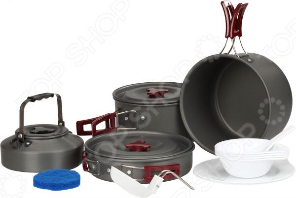 Набор портативной посуды Fire-Maple FMC-209 котелок fire maple typhoon с теплообменной системой 1 л fmc xk6