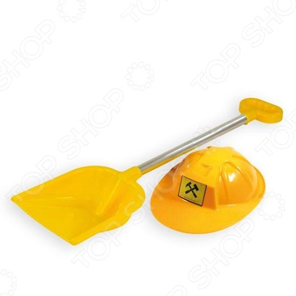 Лопатка для игры в песочнице Zebratoys с каской