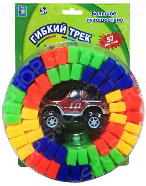 Трек гоночный 1 Toy «Большое путешествие» Т10555