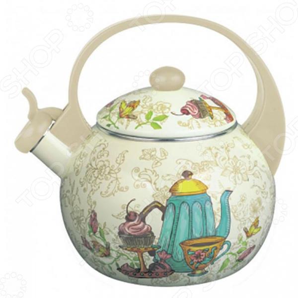 Чайник со свистком Zeidan Z-4184 «Чаепитие» чайник со свистком zeidan z 4184 чаепитие