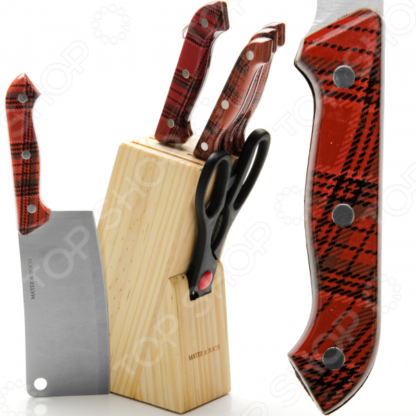 Набор ножей Mayer&Boch MB-394 набор ножей mayer and boch mb 24135