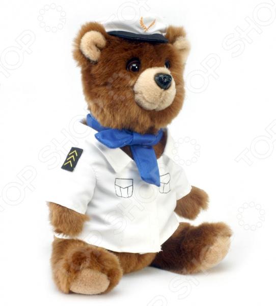 Мягкая игрушка Hansa «Медведь-пилот»