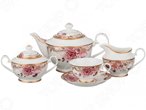 Чайный сервиз Lefard 760-456 чайный сервиз lefard 760 456