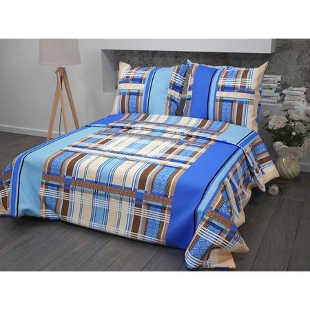 Купить Комплект постельного белья Диана «Клетка». 1,5-спальный