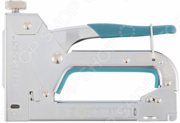 Степлер мебельный GROSS 41000 степлер мебельный 4 функциональный gross 41005