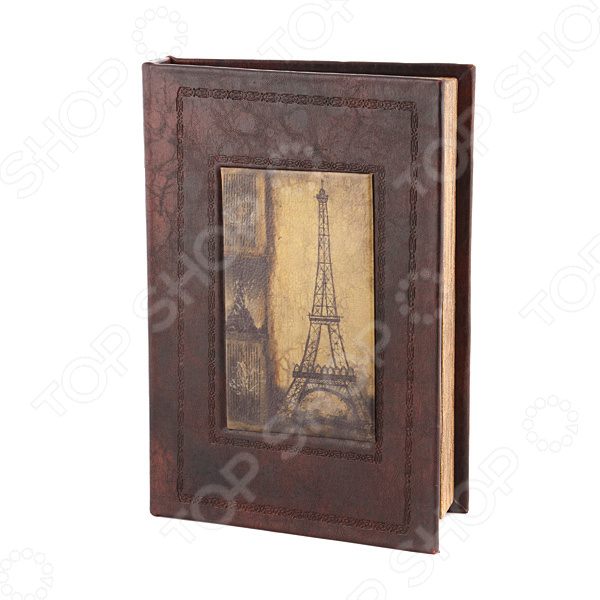 Шкатулка-книга Lefard «Эйфелева башня» 184-069 ограничители для книг magic home ограничитель для книг эйфелева башня