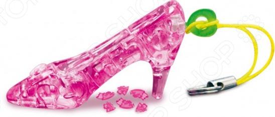 Кристальный пазл 3D Crystal Puzzle «Туфелька». В ассортименте