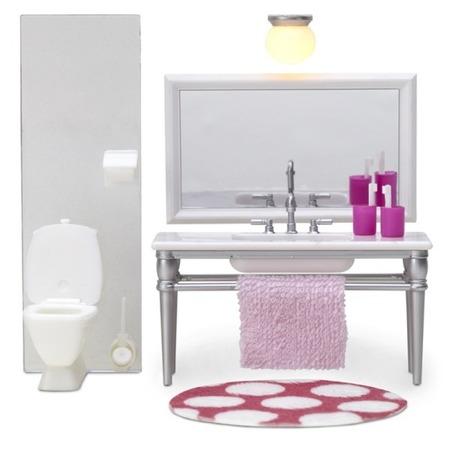 Купить Мебель для куклы Lundby «Смоланд. Ванная с 1 раковиной»