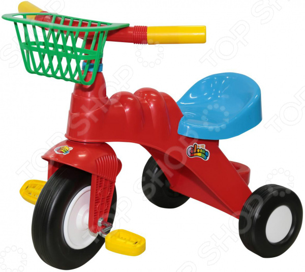 Велосипед трехколесный Coloma Y Pastor с корзиной «Малыш»