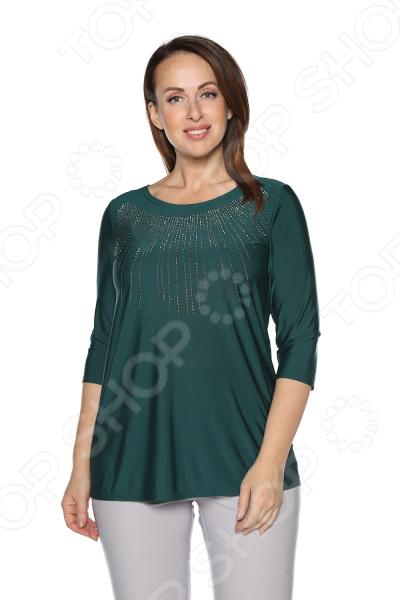 Блуза Blagof «Драгоценная». Цвет: зеленый блуза blagof блуза мерси цвет персиковый