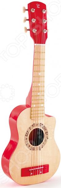 Игрушка музыкальная Hape «Гитара. Красное пламя»