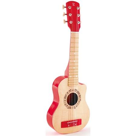 Купить Игрушка музыкальная Hape «Гитара. Красное пламя»