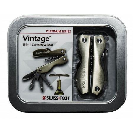Купить Мультитул Swiss+Tech Vintage Corkscrew Tool 8-in-1 в подарочной упаковке