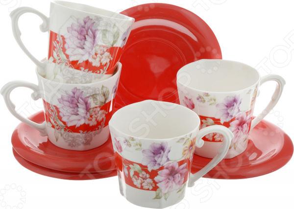 Чайный набор Loraine LR-24700 чайный набор loraine lr 24697 0 23 л керамика розовый