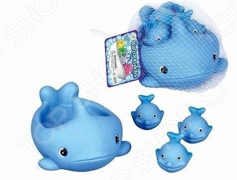 Набор игрушек для купания Наша Игрушка «Киты»