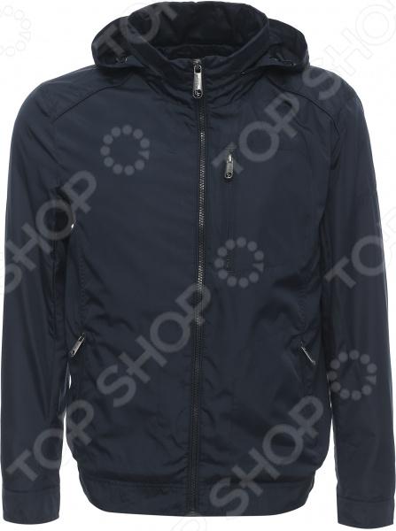 Куртка Finn Flare B17-21027. Цвет: темно-синий
