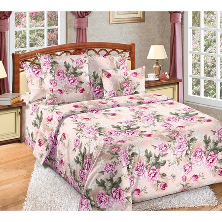 Купить Комплект постельного белья Белиссимо «Белый сад». Семейный