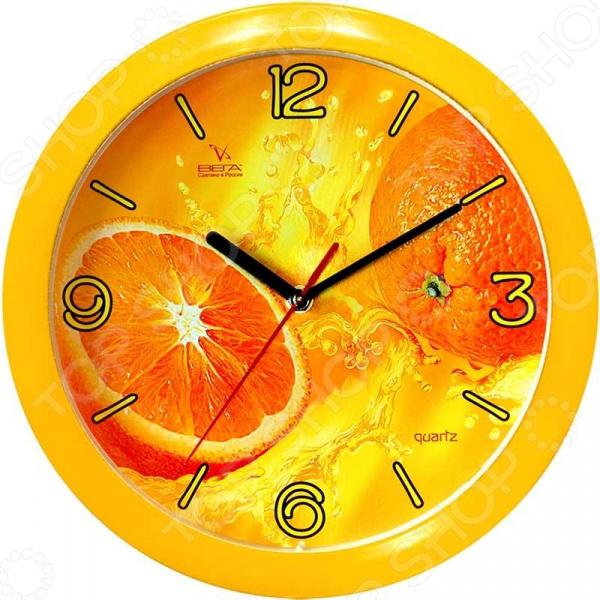 Часы настенные Вега П 1-2/7-11 «Апельсины» часы настенные вега п 2 14 7 24 лилия