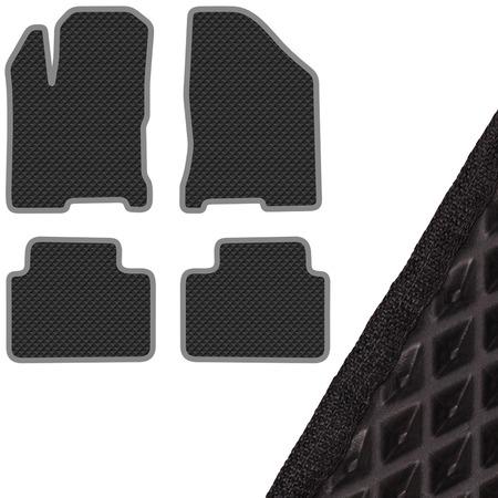 Купить Комплект из 4-х ковриков в салон автомобиля с левым рулем SKYWAY ВАЗ-2180 Lada Vesta (2015)