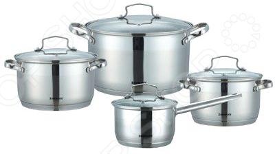Набор посуды для готовки Bohmann BH-1908 кастрюля bohmann 6 л 0805 24bh