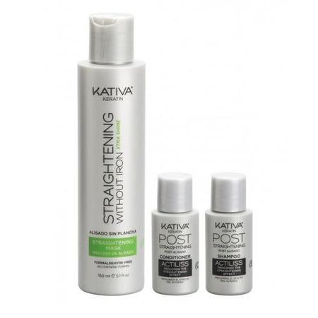 Купить Набор для выпремления волос Kativa «Экстра-блеск»