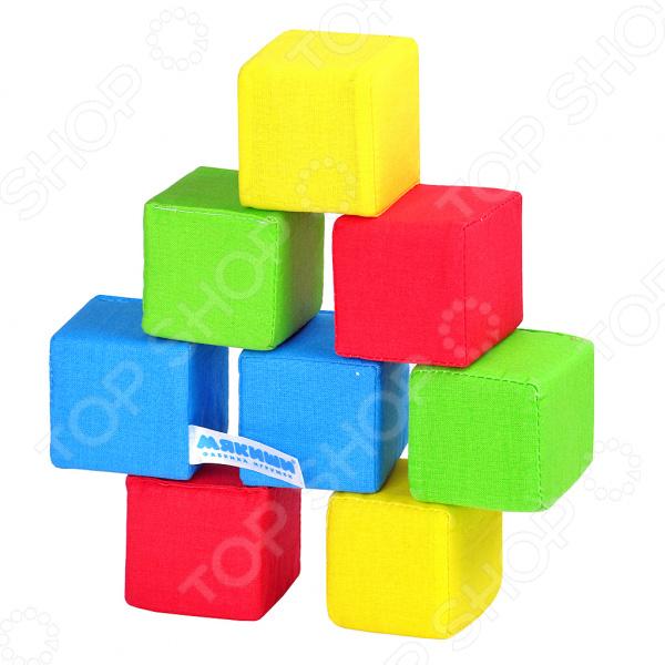 Кубики обучающие мягкие 332