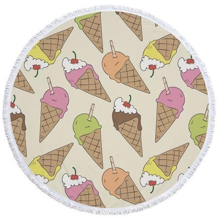 Купить Полотенце-коврик пляжный Bradex «Мороженое»