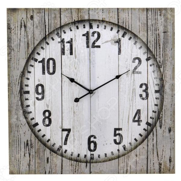 Часы настенные квадратные Mitya Veselkov «Классика. Круг в квадрате» настенные часы авангард 1с круг