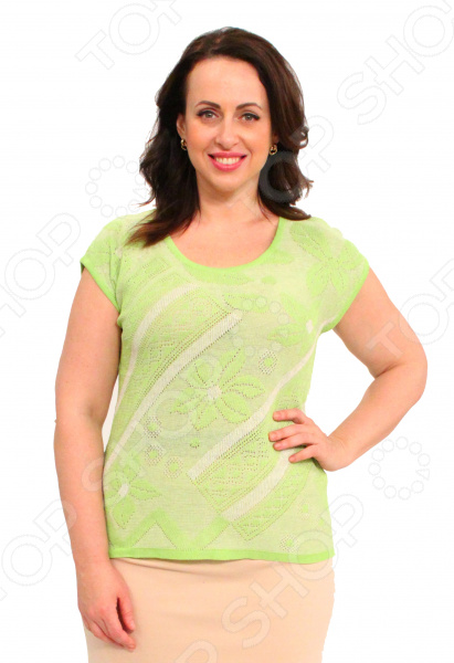 Джемпер Milana Style «Селестина». Цвет: салатовый