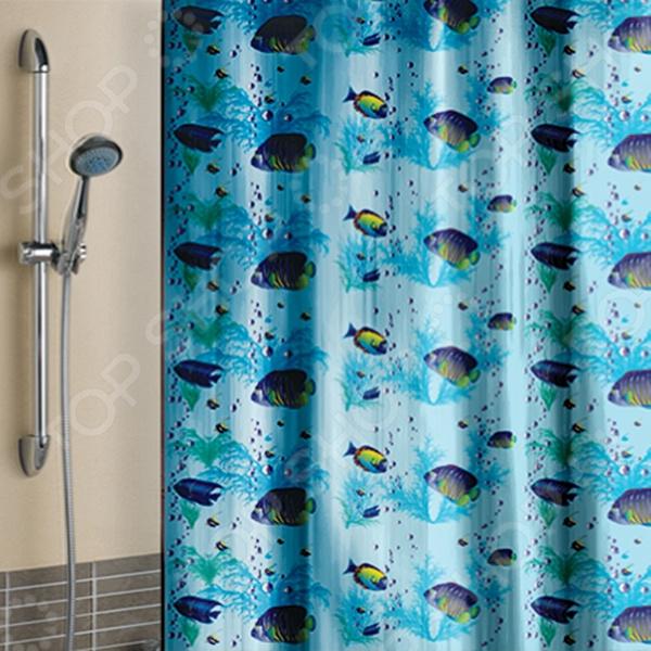 Штора для ванной «Кораллы»