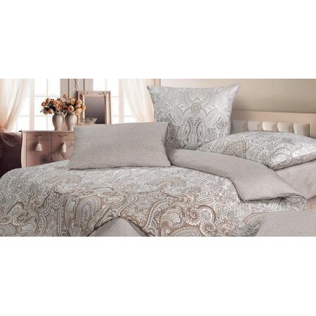 Купить Комплект постельного белья Ecotex «Возрождение». Цвет: серый, светло-коричневый