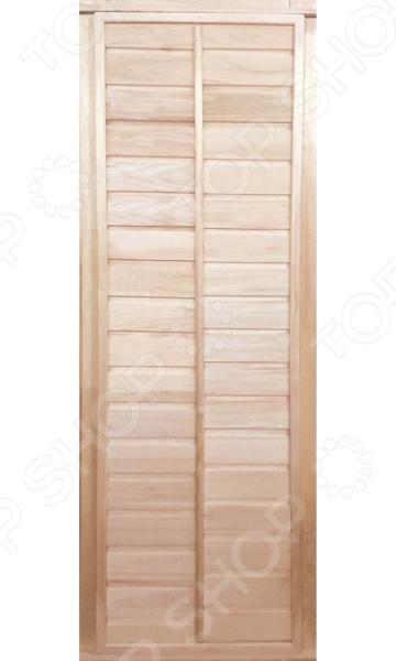 Не секрет, что при проектировке и оборудовании бани и сауны, особое внимание следует уделить качеству и материалу изготовления входных дверей. Обязательным условием является устойчивость древесины к высоким температурам и повышенной влажности. Дверь глухая Банные штучки 34022 является отличным вариантом для парной. Она имеет глухую конструкцию, герметично закрывается и обладает хорошими теплоизолирующими свойствами. В целях защиты от влаги, дверь снабжена пароизоляционным фольгированным слоем.