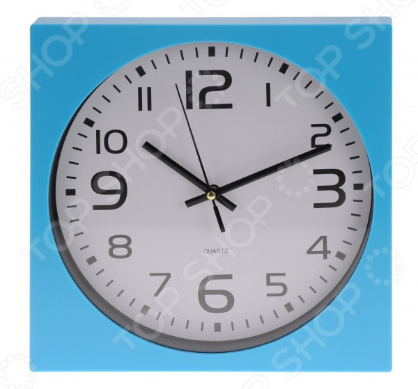 Часы настенные квадратные Mitya Veselkov «Арабские цифры» Mitya Veselkov - артикул: 857951
