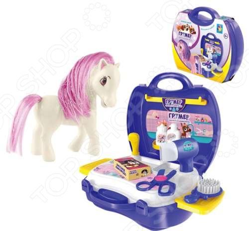 Игровой набор для ребенка 1 Toy в чемоданчике «Профи. Грумер» цены онлайн
