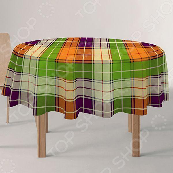 Скатерть круглая Protec Textil Alba «Кантри»