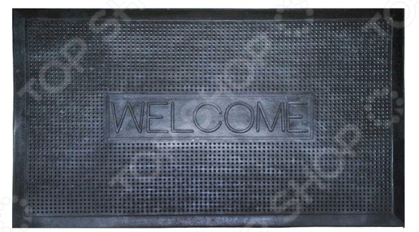 Коврик придверный Gangadhara Welcome коврик придверный domcraft камешки welcome 89 56 см