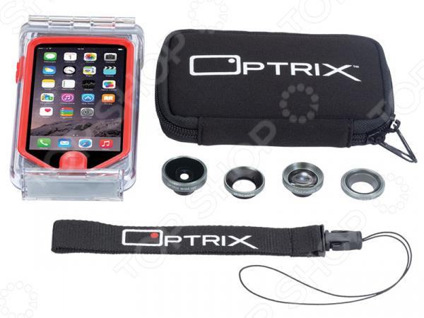 Набор аксессуаров для смартфона Optrix Photo Pro для iPhone 5s optrix bg black red защитная сумка для смартфона