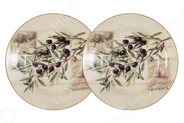 Набор суповых тарелок LF Ceramic «Оливки» кружка lf ceramic оливки 500 мл