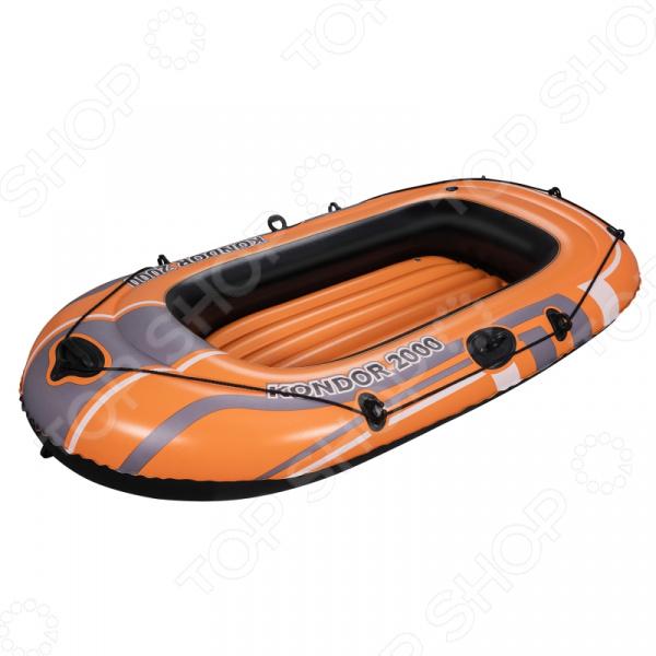Лодка надувная Bestway Kondor 2000 круги для плавания disney лодка надувная