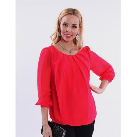 Купить Блузка для беременных Nuova Vita 1394.1. Цвет: малиновый