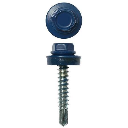 Купить Набор саморезов кровельных Stayer СКМ для металлических конструкций. Цвет: синий