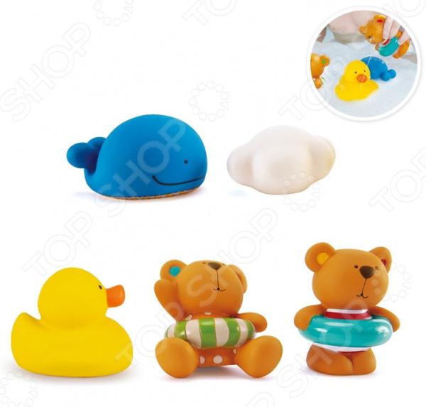 Набор игрушек для купания Hape «Тедди и его друзья»