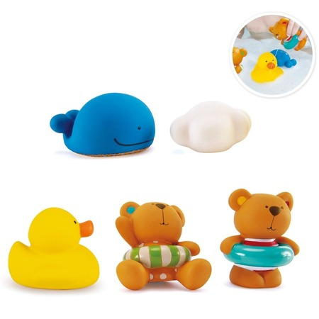Купить Набор игрушек для купания Hape «Тедди и его друзья»
