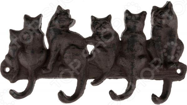 Крючок Lefard «Кошки» 768-150 крючок lefard 768 304