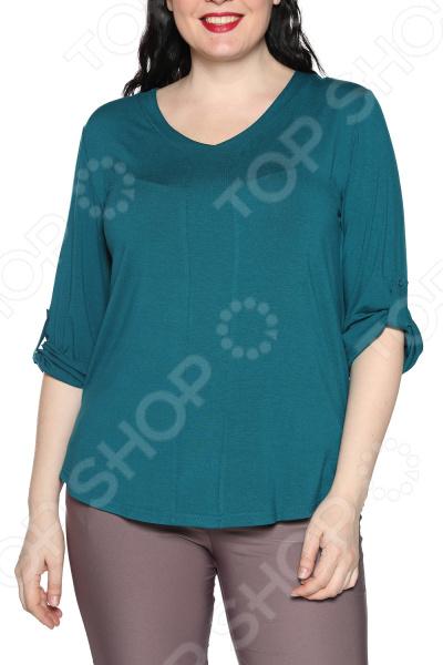Блуза Kaproni «Праздник души». Цвет: зеленый блуза apart блуза