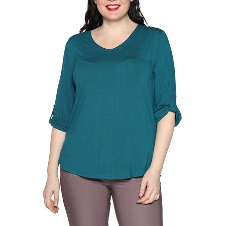 Купить Блуза Kaproni «Праздник души». Цвет: зеленый