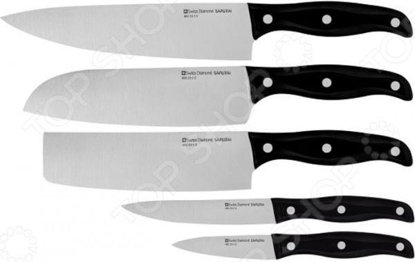 Набор ножей Swiss Diamond SNLKSET 05 нож для хлеба 22 см swiss diamond sdpk03