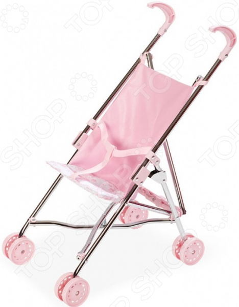 Коляска-трость для кукол Arias Valentina Т13753 прогулочная коляска для кукол arias т13752