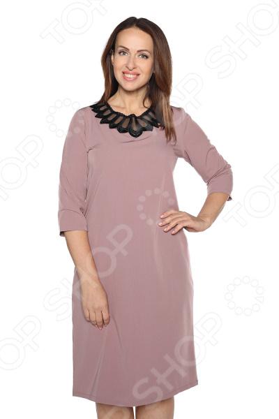 Платье Pretty Woman «Ожерелье королевы». Цвет: пудровый платье pretty woman ожерелье королевы цвет черный
