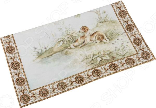 Полотенце кухонное Santalino «Охота» 850-705-6 сидушка на стул santalino райский сад 850 832 5